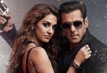 Actors Salman Khan and Disha Patani in a still from the latest Bollywood Eid release, Radhe: Your Most Wanted Bhai. | Photo: Twitter/@SKFilmsOfficial
