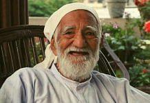 A file photo of environmentalist Sunderlal Bahuguna, who died on 21 May 2021. | Photo: Twitter/@kuljitnagra1