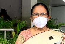 A file photo of CPM leader and ex-Kerala health minister K.K. Shailaja. | Photo: ANI