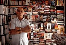 A file photo of Bengaluru's Premier Book Shop owner T.S. Shanbhag. | Photo: Twitter/@sugataraju/Mahesh Bhat