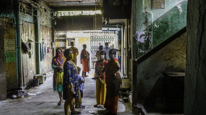 The scene outside a polling booth on Tagore Castle Street in Kolkata | Photo: Arko Datto | Bloomberg