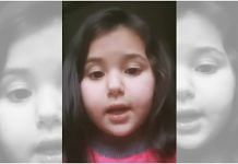 Video of J&K's 6-year-old girl on homework have gone viral on social media | Screengrab