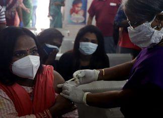 A beneficiary gets the Covid vaccine in Chennai   Representational image   ANI