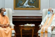 Uttar Pradesh CM Yogi Adityanath met PM Narendra Modi at the latter's official residence in Delhi Friday | ANI