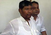 LJP MP Pashupati Kumar Paras speaks to media Monday | ANI