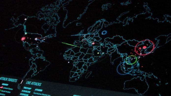 Representational photo | A cyber attack dashboard | Flickr
