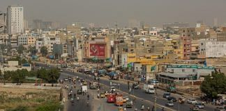 Vehicles travel along a road in the Clifton area of Karachi, Pakistan (Representational image)   Photographer: Asim Hafeez/Bloomberg