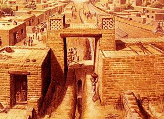 An artist's rendition of Harappan civilisation | Wikimedia Commons