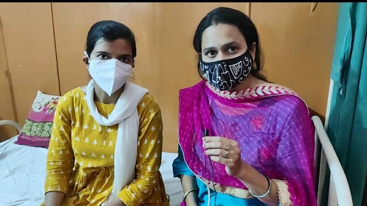 Anu (left) and Sonam Rajoria (right) were transferred out of Jamalpur PHC. Both women were working the day Niha Khan allegedly disposed of vaccines without administering them   Shubhangi Misra   ThePrint