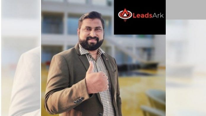 Ayaz Mohammad, founder of LeadsArk