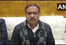 File photo of Rajasthan Congress chief Mahesh Joshi | Twitter/@ANI