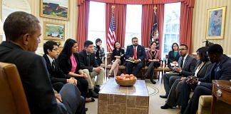 In 2015, then US President Barack Obama invited six undocumented students to the White House to hear from them how DACA helped them. He shared the image on 16 June, to mark the the ninth anniversary of DACA | Photo: Twitter/@BarackObama