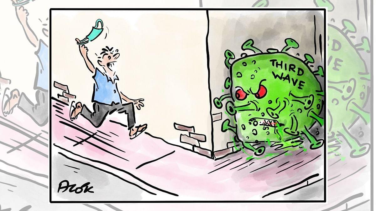 Covid danger still lurks around the corner, & Thackeray in a 5-year 'lockdown' in Maharashtra