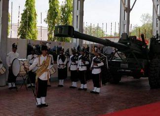 Dhanush artillery guns | Ministry of Defence