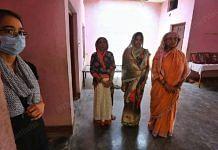 (From left) Mishi Yadav, Anupama Yadav, Seema Singh and Kusma Yadav, who lost eight members of their family   Photo: Praveen Jain/ThePrint