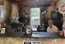Karamvir Dahiya at his canteen at JNU | Soniya Agrawal | ThePrint