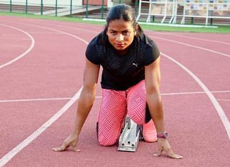File photo of Dutee Chand | Facebook/dutee.chand.3