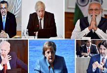 PM Narendra Modi participates in the first Outreach Session of the G7 Summit virtually, in New Delhi |PTI