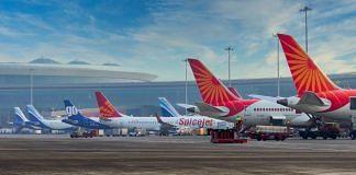 Representative Image   Aircrafts at the Chhatrapati Shivaji Maharaj International Airport, Mumbai   Twitter   @CSMIA_Official