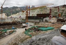 Construction takes place at the China Guangdong Nuclear Power Group Co. atomic plant in Taishan, in July 2020   Photographer: Qilai Shen   Bloomberg