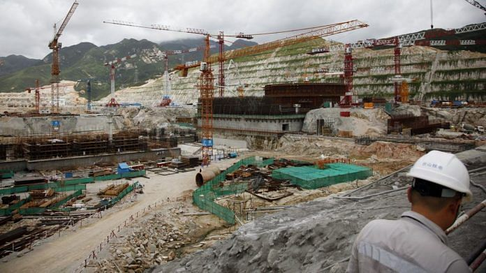 Construction takes place at the China Guangdong Nuclear Power Group Co. atomic plant in Taishan, in July 2020 | Photographer: Qilai Shen | Bloomberg