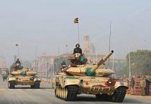 Representational image | Indian Army tanks at the Republic Day parade | Suraj Singh Bisht | ThePrint File Photo