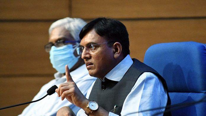 File photo of Union Health Minister Mansukh Mandaviya | ANI photo