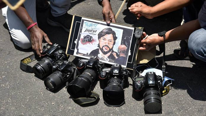 Photojournalist Danish Siddiqui was 'brutally murdered' by Taliban, US  media report says – ThePrint