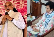 Former Haryana CM Bhupinder Singh Hooda and Haryana Congress chief Kumari Selja | Photo: Twitter