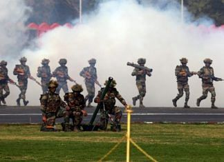 File photo | A contingent of the Indian Army showcase their skills on Army Day, in Delhi | Suraj Singh Bisht | ThePrint