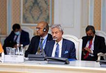 Jaishankar addressing a meeting of SCO at Dushanbe on 14 July 2021   Twitter /@DrSJaishankar