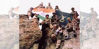 File photo of Indian Army soldiers after capturing a hill during the Kargil war   Photo: Commons
