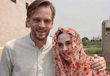 Karl Rock, a New Zealand citizen, and his Indian wife Manisha Malik | Karl Rock | Twitter