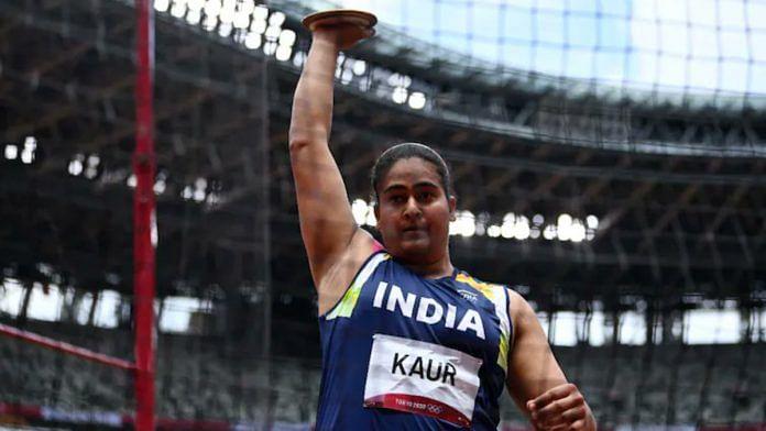 Indian athlete Kamalpreet Kaur   Twitter /@joybhattacharj