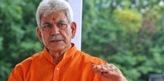 Jammu & Kashmir Lieutenant Governor Manoj Sinha at Raj Bhawan, Srinagar, in July 2021   Praveen Jain   ThePrint