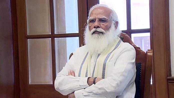 File photo of Prime Minister Narendra Modi.   ANI