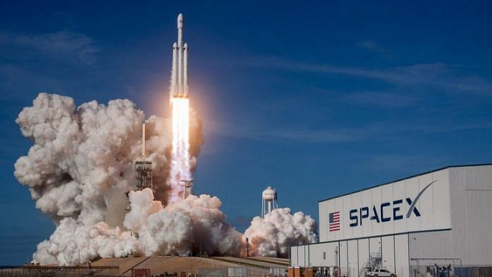 A SpaceX rocket   Representational image   Flickr  - SpaceX rev 768x432 1 696x392 - Rockets emit 100x more CO₂ per passenger than flights – imagine a space tourism industry