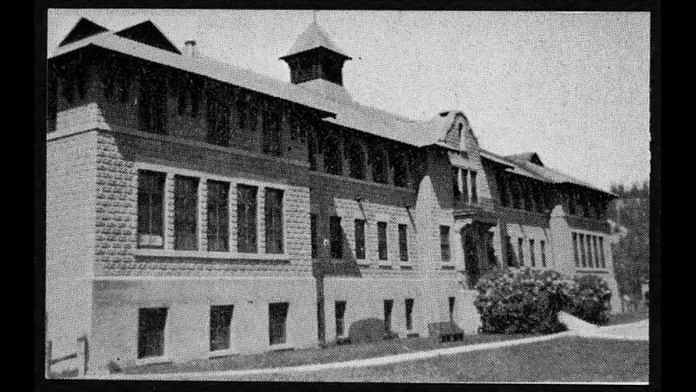 An archival photo of the St Eugene's residential school in British Columbia, Canada | Credits: Indian Residential School History & Dialogue Centre, University of British Columbia
