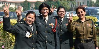 Women Army officers outside the Supreme Court in New Delhi on 17 February 2020 ( representational image)   Photo: Suraj Singh Bisht   ThePrint