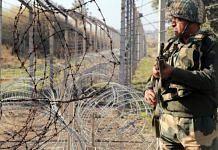 A BSF jawan stands guard at border | Representational image | ANI