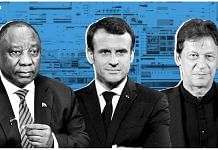 Cyril Ramaphosa, Emmanuel Macron, Imran Khan