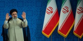 Iran's president Ebrahim Raisi during a news conference in Tehran, on 21 June 21