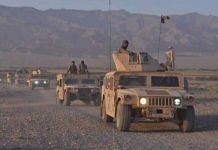 File photo of Afghanistan defence operation against Taliban | Twitter/MoDAfghanistan