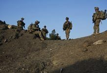 US Army soldier in the remote Musa Khel district of Khost province, Afghanistan   Photo: Victor J. Blue   Bloomberg File