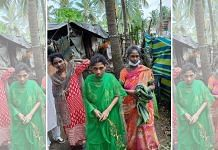 Three women from a family in Kadali village in Razole Mandal, Andhra Pradesh, who have been found in ill-health after self-isolation for 15 months. | Photo by special arrangement
