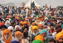 Representational image of farmers protesting at Singhu border | Photo: Manisha Mondal | ThePrint