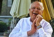 Former chief minister Farooq Abdullah | Photo: Praveen Jain | ThePrint