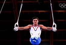 Representative Image   A member of the ROC men gymnastics team which won gold in Tokyo   Twitter   @Olympics