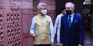 External Affairs Minister S. Jaishankar and Afghanistan reconciliation leader Abdullah Abdullah in New Delhi on 23 July. | Photo: Twitter/@DrJaishankar