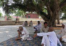 The Karhans card players under the banyan tree opposite the medical dispensary   Jyoti Yadav   ThePrint